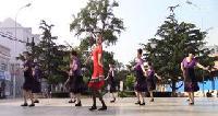 大连市旅顺口区太阳沟光荣街道媛梦舞蹈队广场舞表演第二场